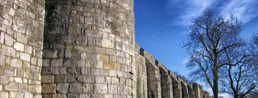 Great Barriers - City walls of York, England